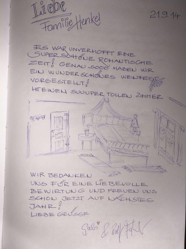 Ferienwohnung-Zeichnung
